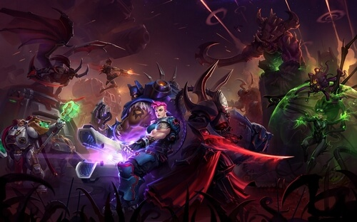 Heroes of the Storm, MOBA. Выход: 02.06.2015 г.