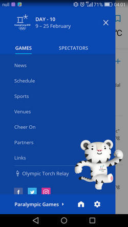 PyeongChang 2018 Official App